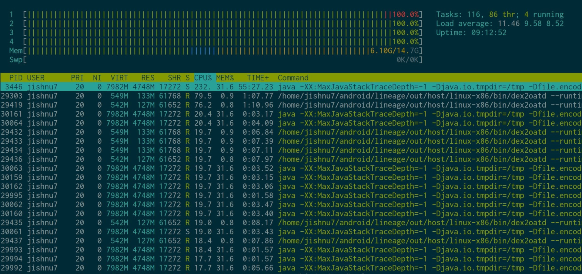 Building LineageOS 15 1 from source