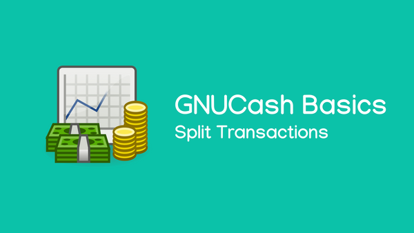 Split Transactions in GNUCash